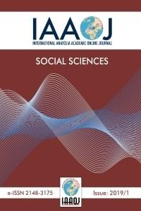 International Anatolia Academic Online Journal / Social Science Journal